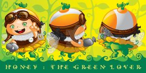 Honey The Green Lover by ud120182