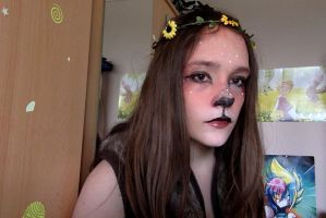 Faune maquillage by lostmemoryCS