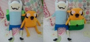 Finn and Jake by Brutemusandfriends