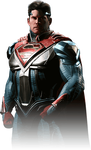 Superman Injustice 2 Portrait PNG by DarkVoidPictures