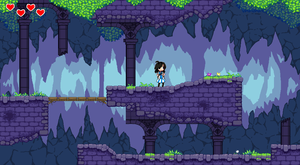 Screen shot cave by Jump-Button