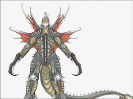 Gigan design 2013 by Arrancarfighter
