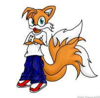 Tails Goes Nyah by chaoticdreamer