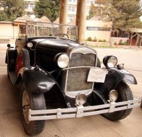 One of the first cars in Ethiopia by rbnsncrs