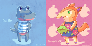 Favourite Villagers Day 3 by Southrobin
