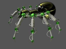 Mechanical Spider Angle 2 by Ven0mSevenX