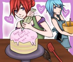 Happy B-day aquakairigirlxxx ! by Kairime