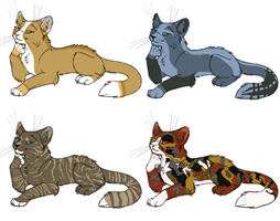FREE  Kitty Cat Adopts (CLOSED) by JadedEmberWolf