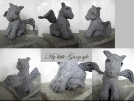 My little Pony Custom Gargoyle by BerryMouse