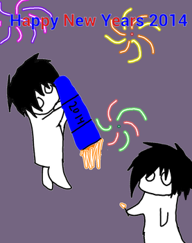 Happy  Emo New Years 2014 by ToxicF4ux