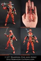 Custom 3.5 inch Deadpool by KyleRobinsonCustoms