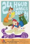 24 hour comics day poster 09 by Ztoical