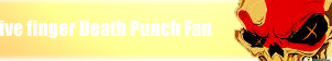 Five finger death punch fan button by Itsneverenoughnever