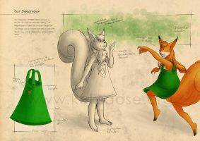 Sketch Artbook - The squirrel by yumkeks