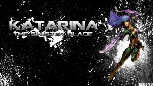 LoL - Mercenary Katarina Wallpaper -xRazerxD by xRazerxD