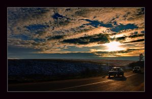 Romania - Road to the sun by christian-alexandru