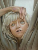 Colored pencil drawing of Maddie ziegler by can727