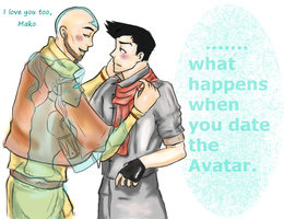 Makorra.....Almost by thefuzzysweater