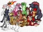 Wolf Party by sthephanymel