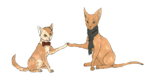 -transparent- BBC kittens by MommaCabbit