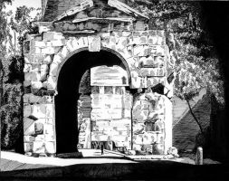 Roman Archway by MGMags