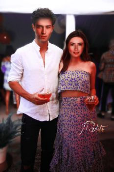 Manip|Lily Collins and Francisco Lachowski by Jess104