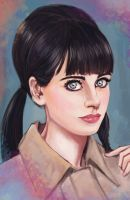 Zooey Deschanel by pandatails