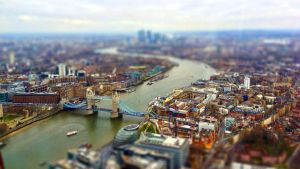 Tilt Shift London Wallpaper by osullivanluke