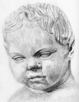 Statue Child by Rose--Wolf