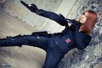 Agent Romanoff by Fayry-Cosplay