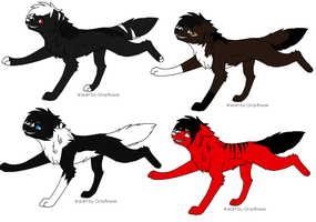 Cute wolf adopts :CLOSED: by Riukis-adopts