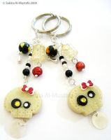 Special Skulls KeyChains by ChocoAng3l