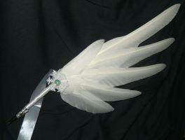 Frozen Angel - handmade Quillpen by Ganjamira
