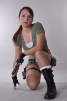 Lara Croft Pose by AnaMaria88