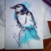 Johanna's Magpie by FinchFight