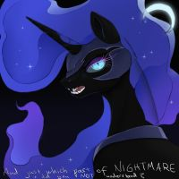 MLP fim: The Night-mare by Gregan811