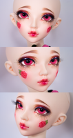 Ombre New Sculpt/Faceup by Delicate-Reflections