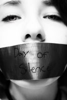 BW- Day of silence 2 -xXIneedy by dapride