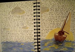 Art Journal - The Voyage by XcubX