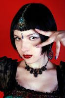 STOCK - Indian Goth by Apsara-Stock