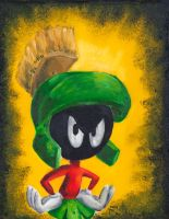 Marvin The Martian by Fruksion