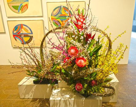 Bouquets to Art 2017 Flower Arrangement F48 by Trisaw1