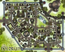 The Town Noldrun by MindoftheMasons