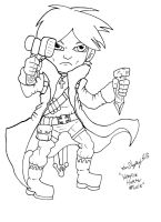 Vampire Hunter - Male by Shapshizzle