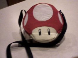 Power-Up Mushroom Purse by kittykatgamergirl