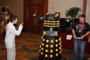 Take that, Mister Dalek by Sock-Monkey-Renegade