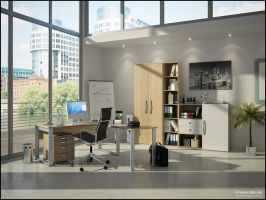 3D Office - 2 by FEG
