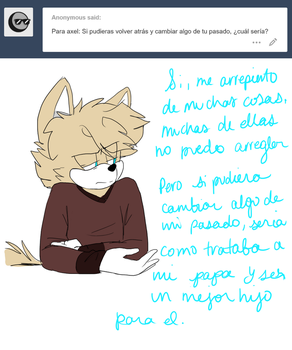 ASK:Axel Spanish Anon by CandiCindy