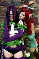 The Huntress and Poison Ivy by MaDeath90