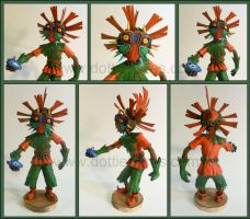 Skullkid statue by Gimmeswords